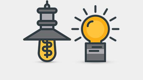 لامپ تزئینی، ادیسونی